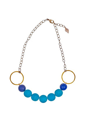 Turquoise and Lapis Luzuli Necklace