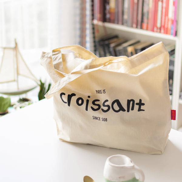 Paris is Croissant Bag