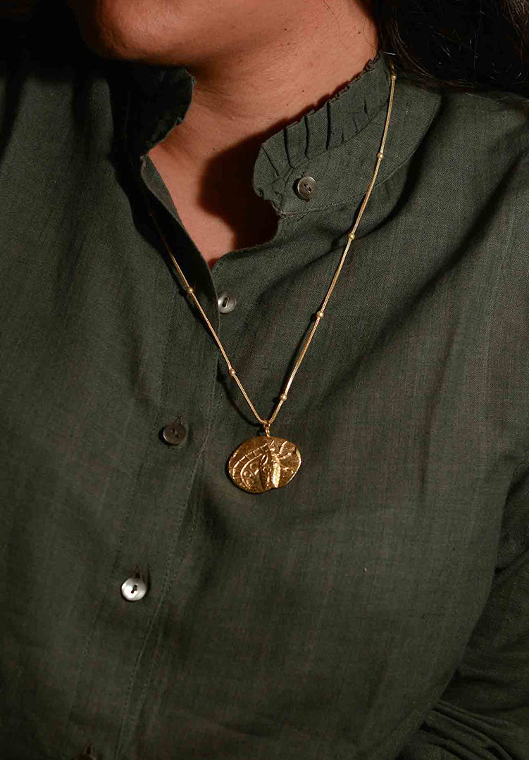 Fossil Pendent M 2
