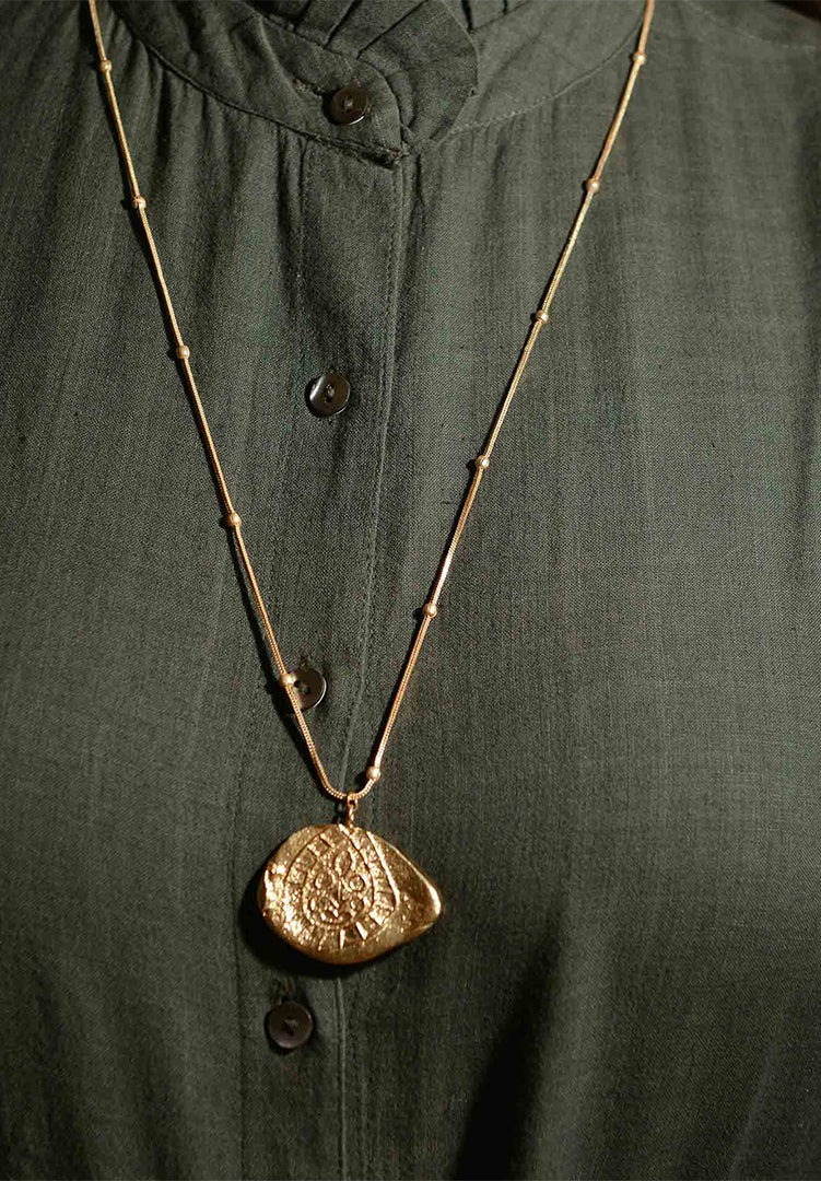 Fossil  Pendent L 2