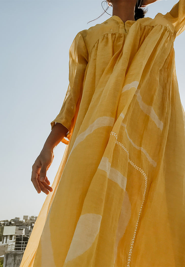 Arazi Dress - Sunny Yellow
