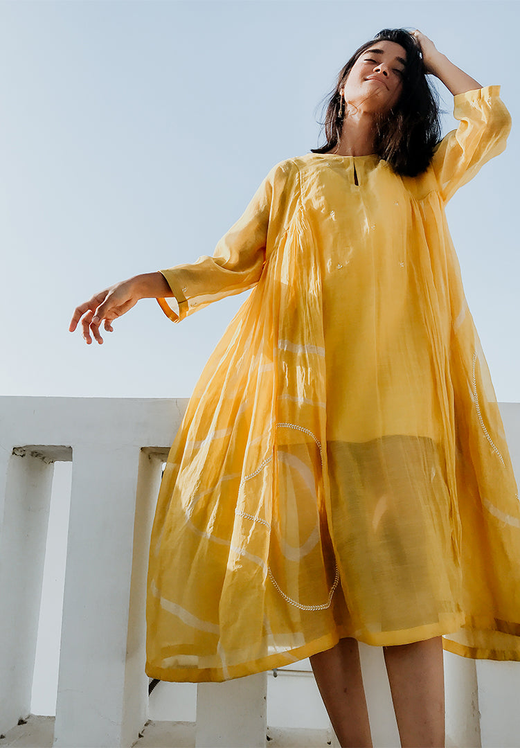 Ruzgar Dress - Sunny Yellow