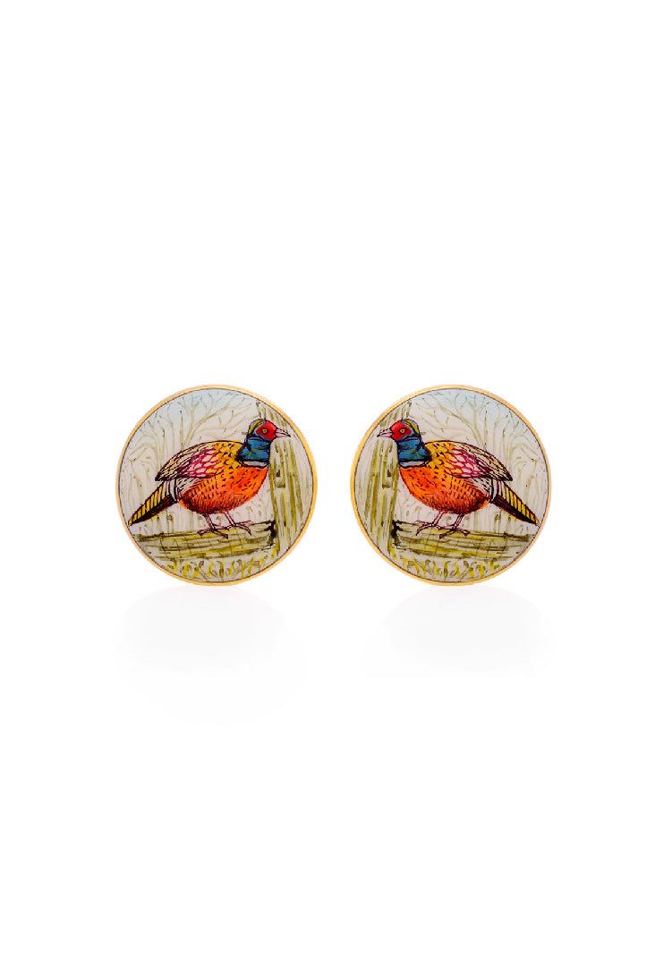 Common Pheasant Cufflinks
