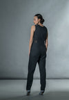 Jumpsuit With Matting - Black