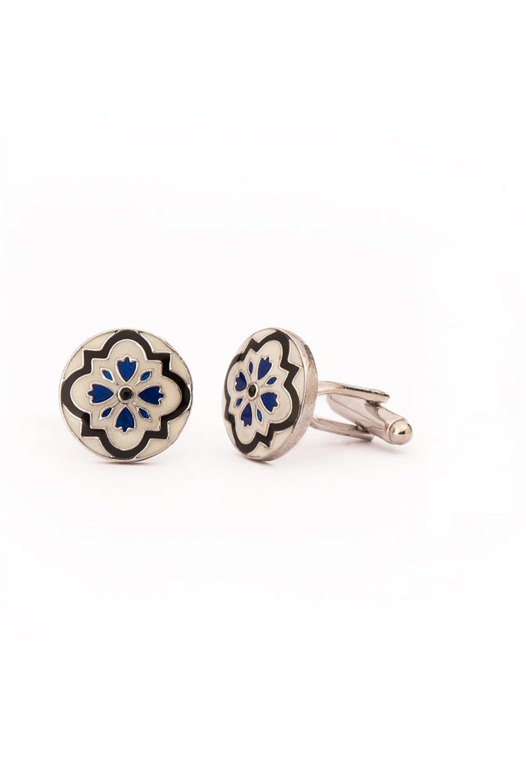The Hera Cufflinks - White Gold