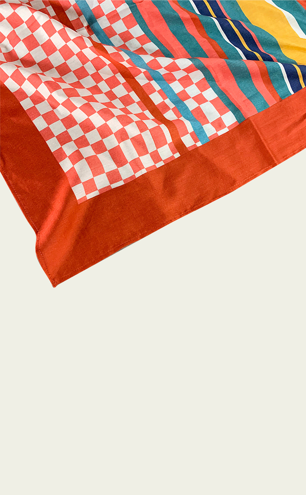 Coral Patterned Bandana