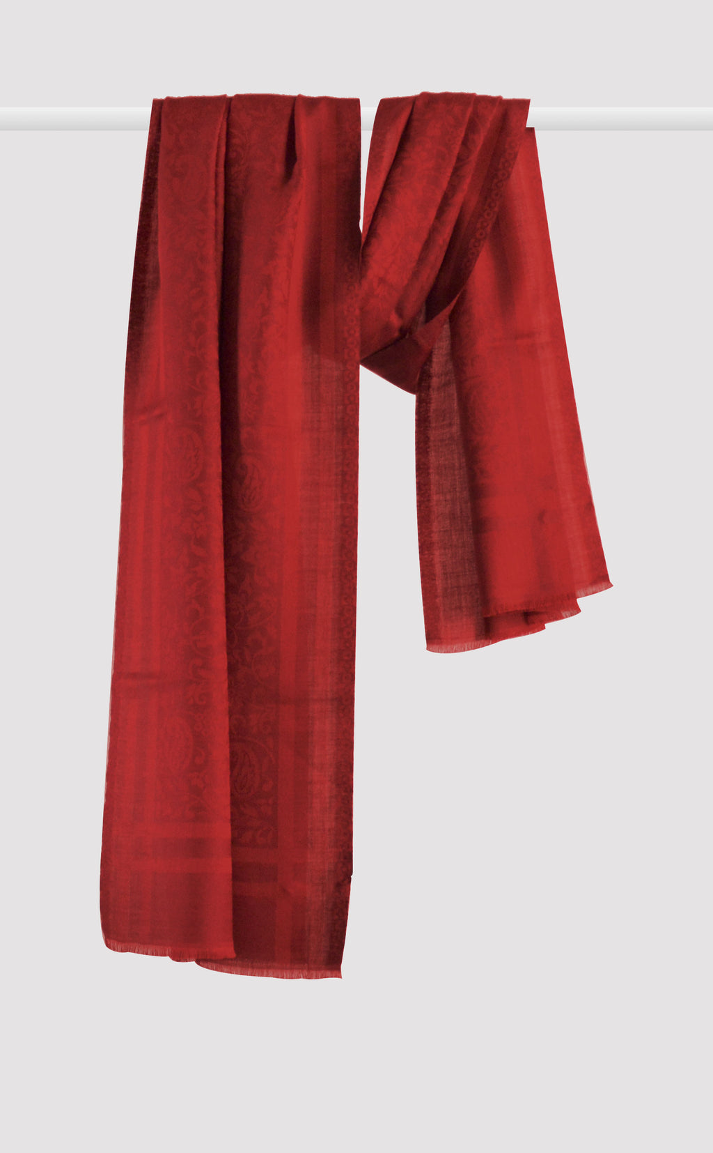 Ruby Wool Jacquard