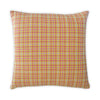 Orange Houndstooth Cushion