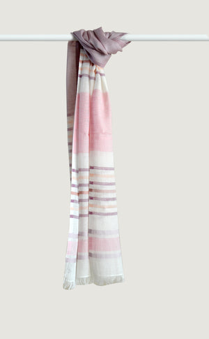 Mulberry Cotton Linen Stripes