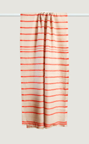 Merino Stripes Red