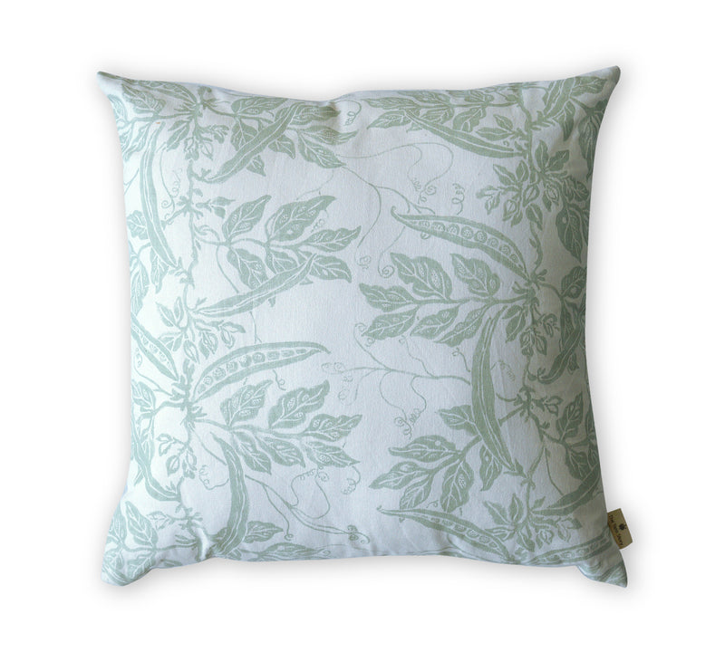 Leafy Teal Cushion
