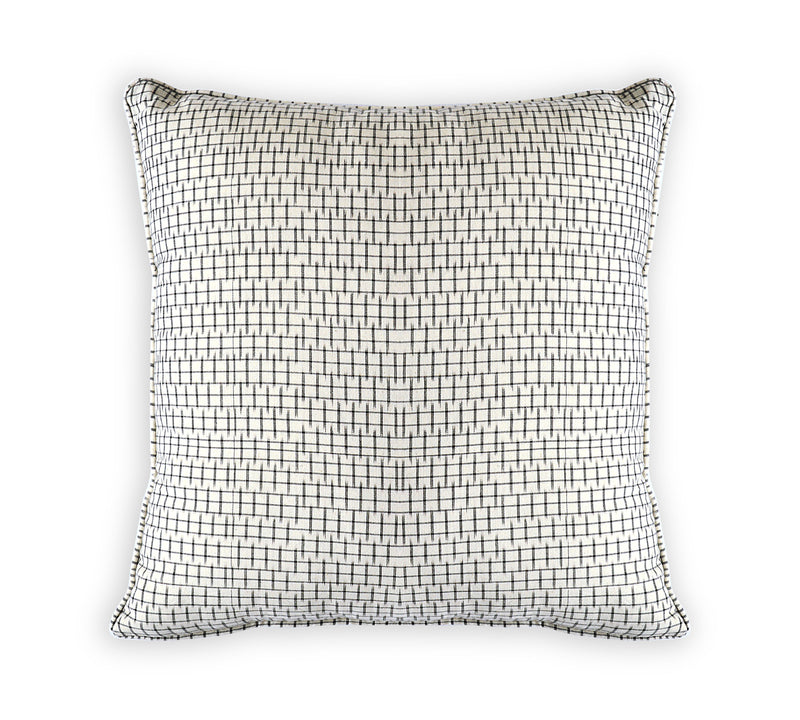 Ikat Checks Cushion