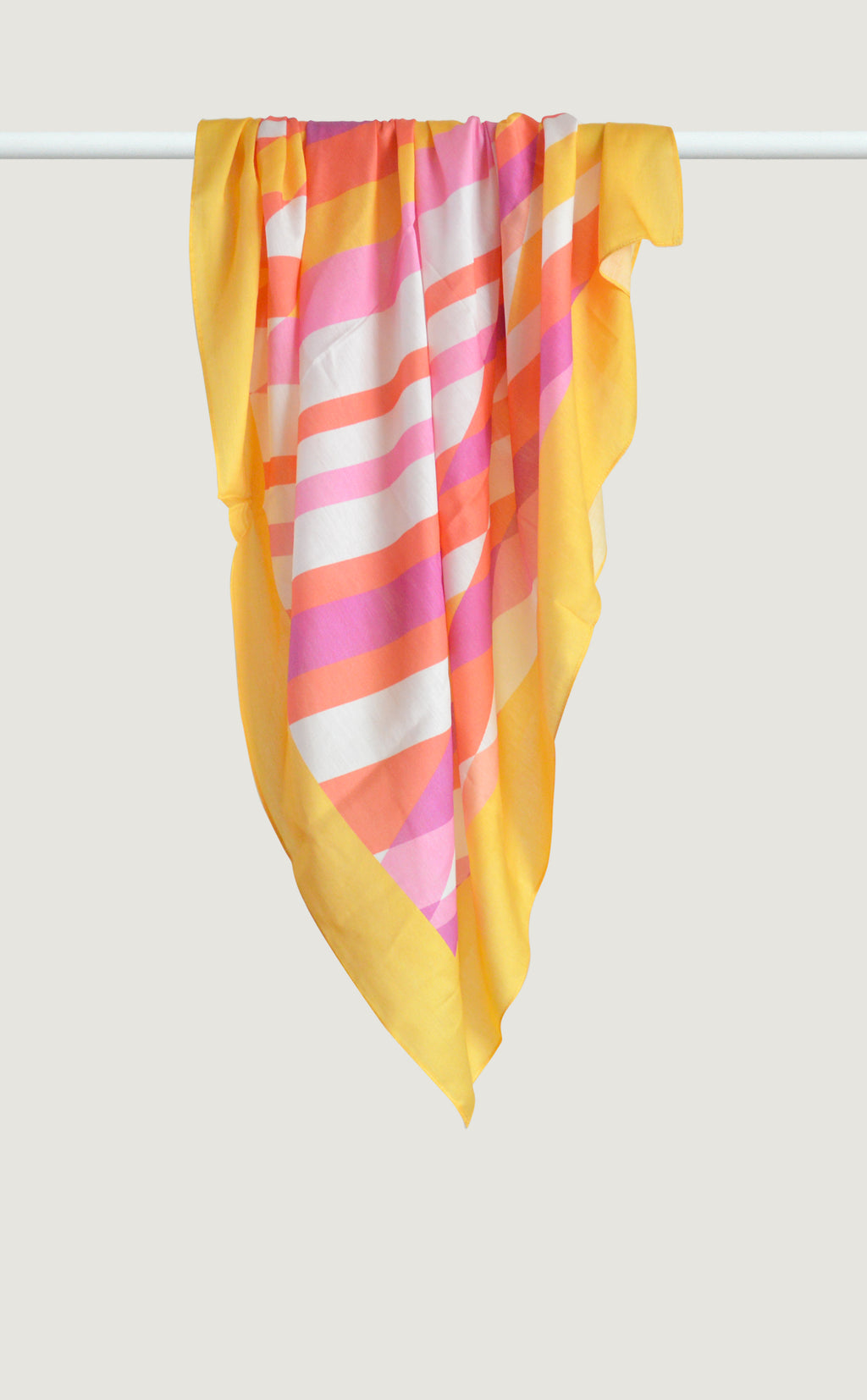 Yellow Harlequin Scarf