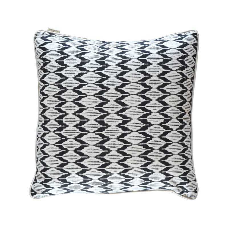 Black Poplin Cushion