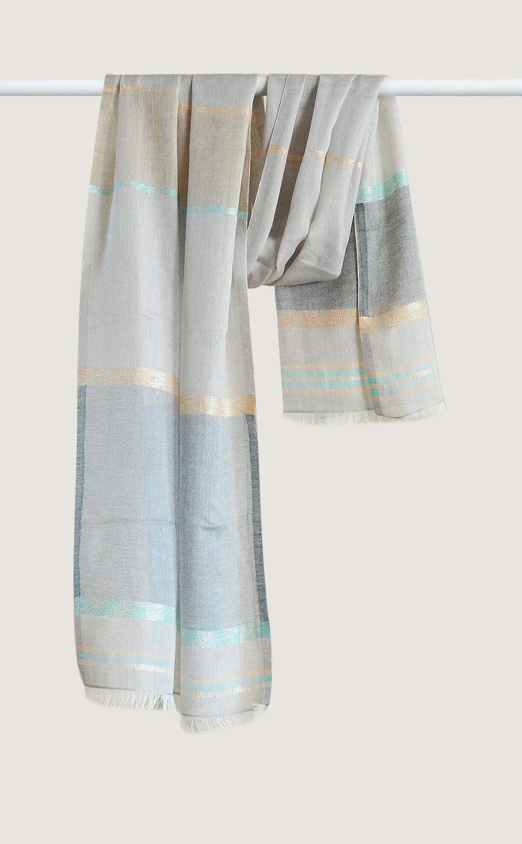 Lustre Stripes Blue