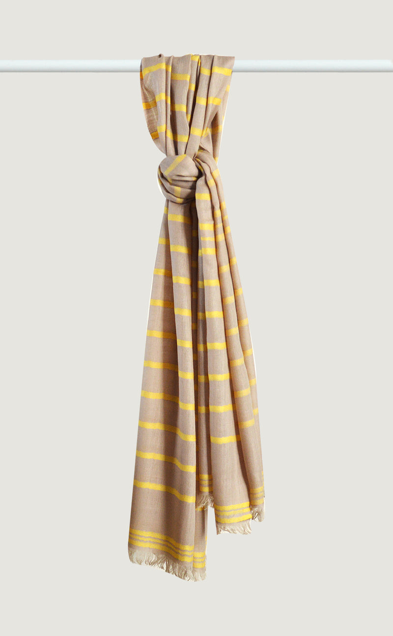 Merino Stripes Yellow