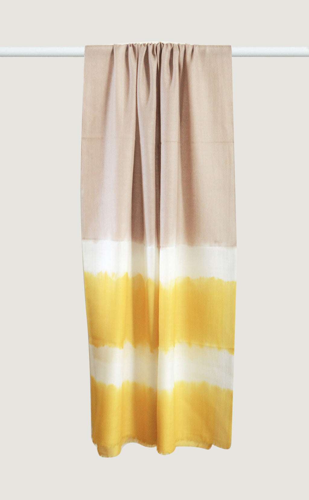 Merino Dip Dyed Yellow