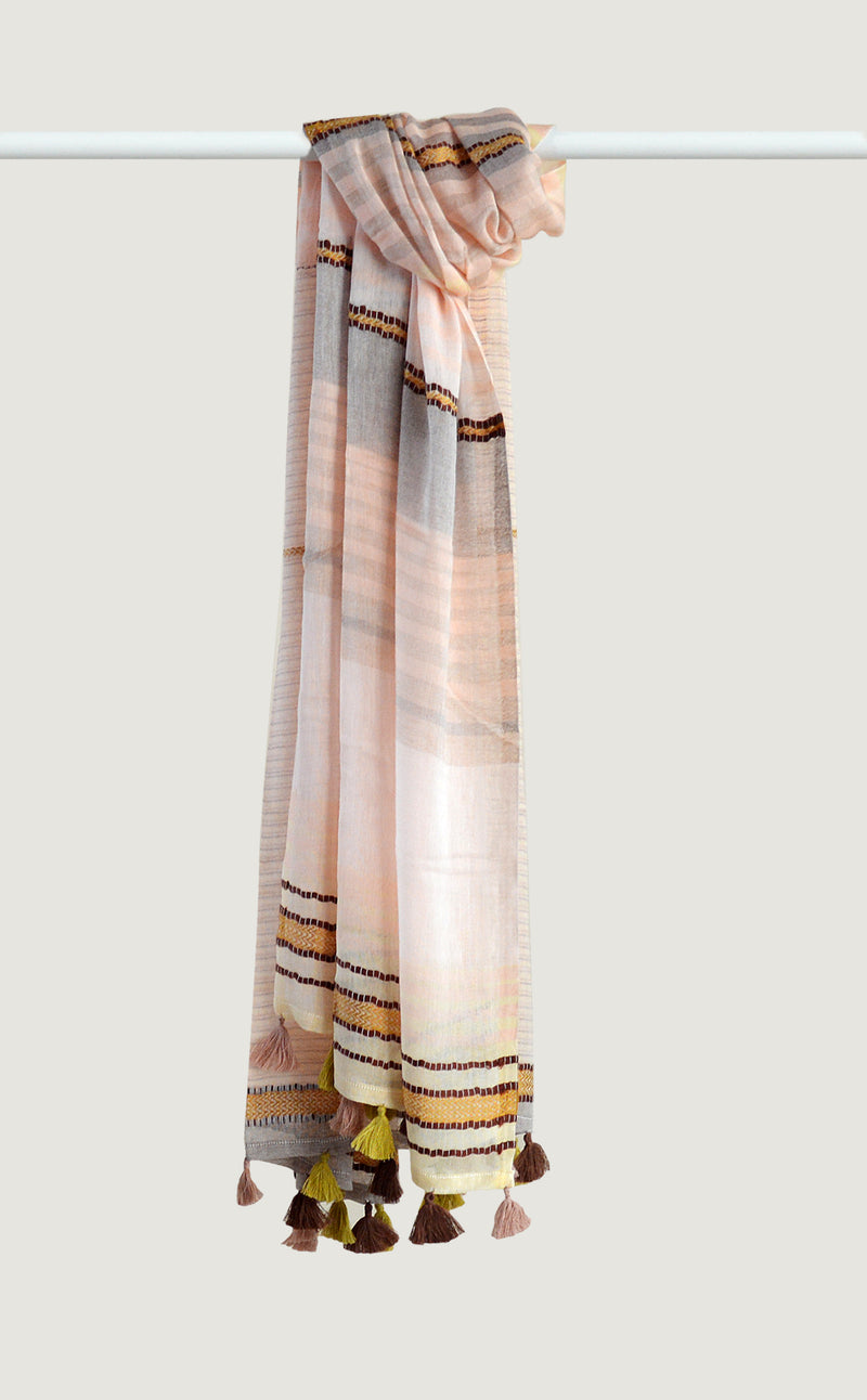 Peach Cotton Tassel