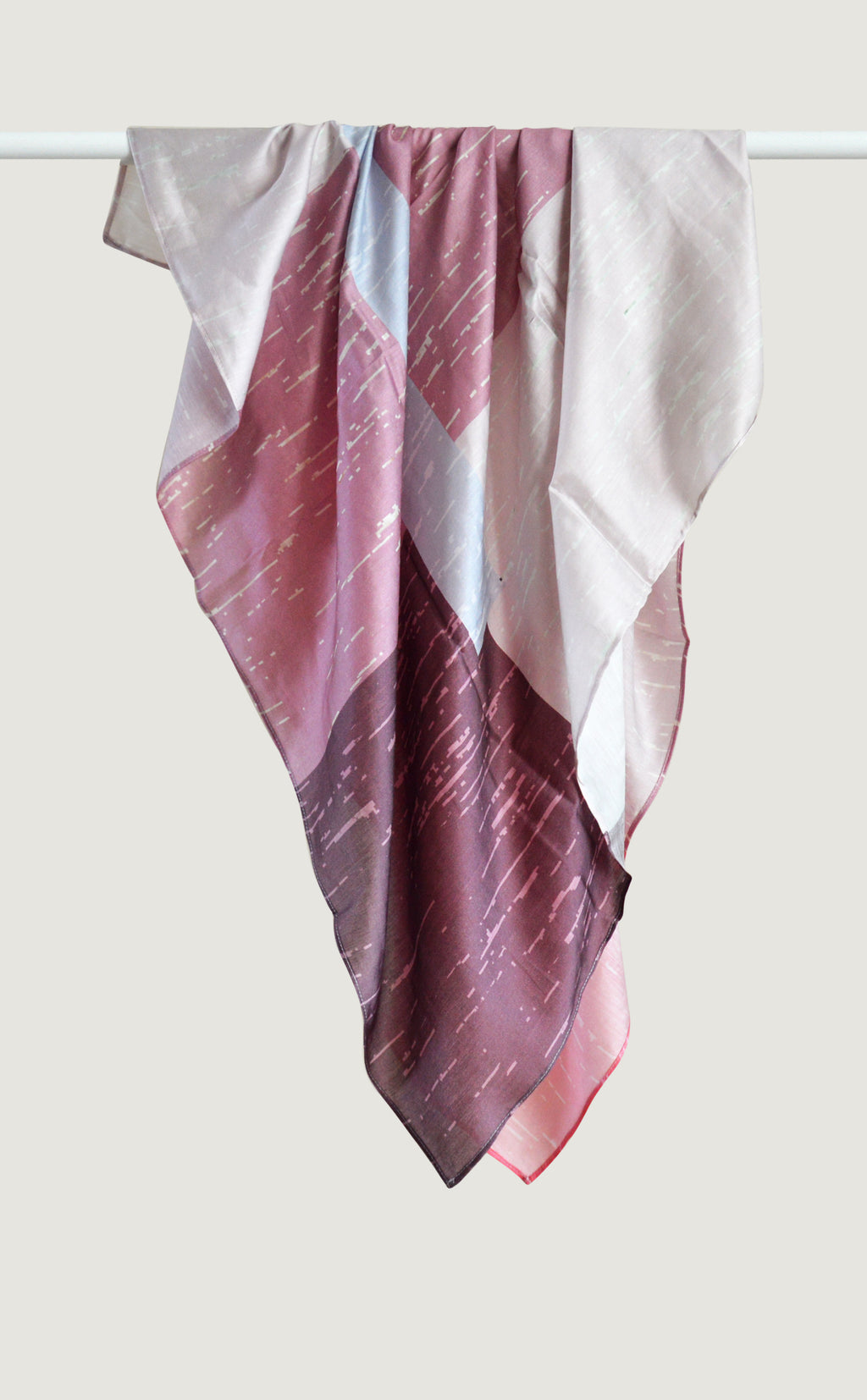 Pink Tranquil Scarf