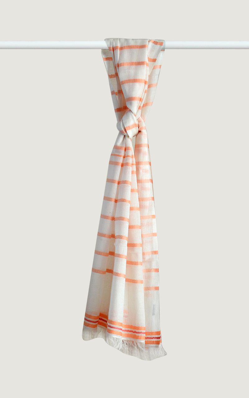 Apricot Cotton Stripes
