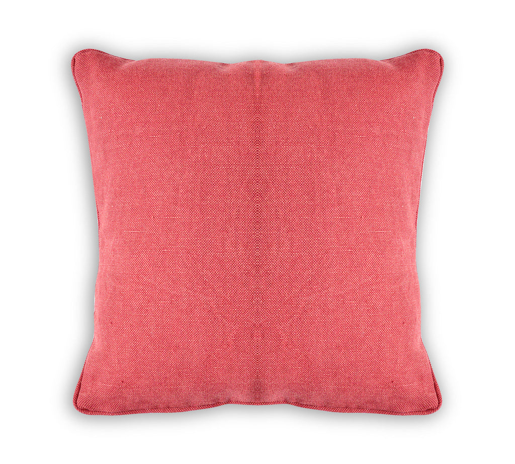 Solid Red Cushion