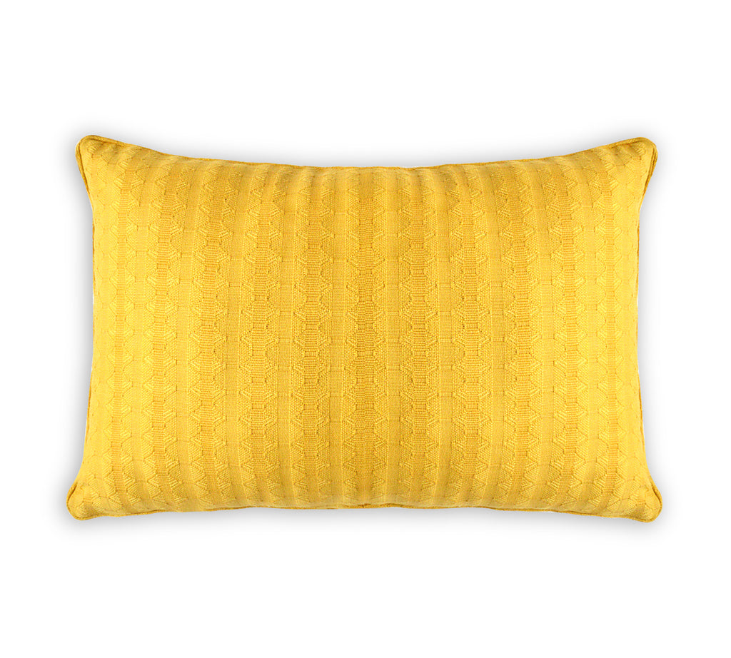 Yellow Structure Cushion