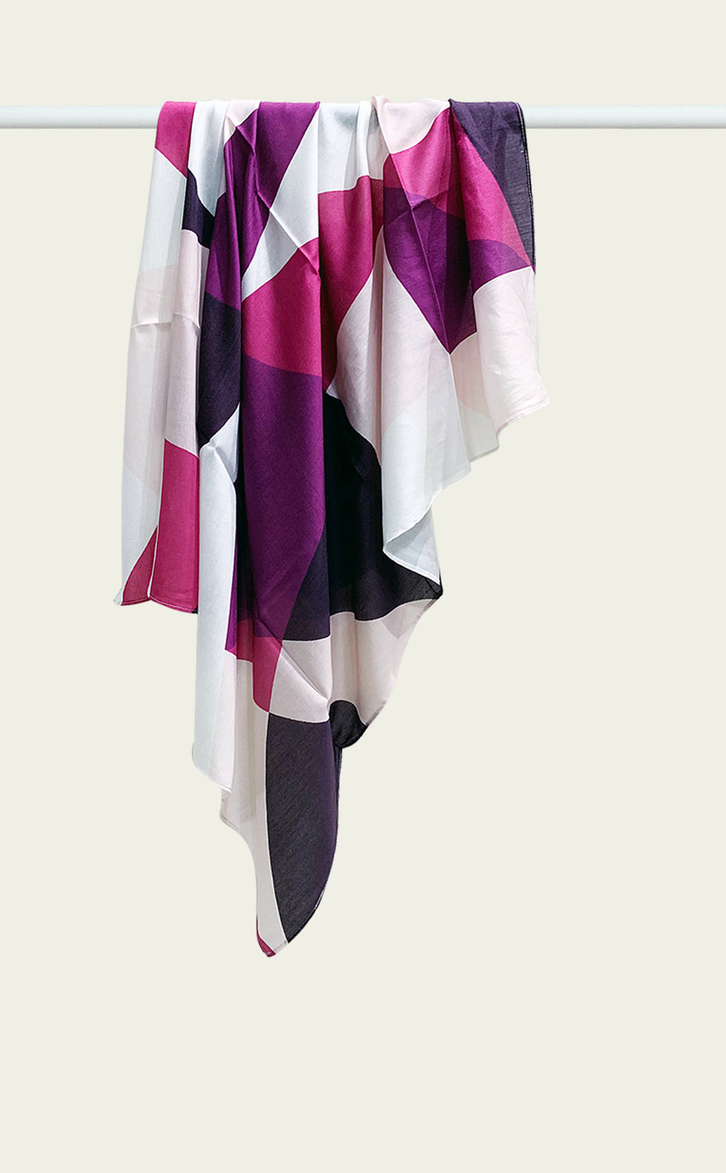 Purple Breeze Scarf