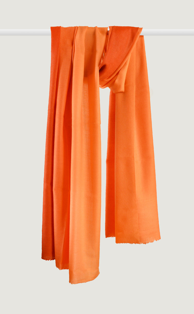 Merino Ombre Orange