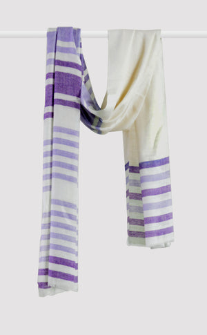 Cashmere Stripes Stole