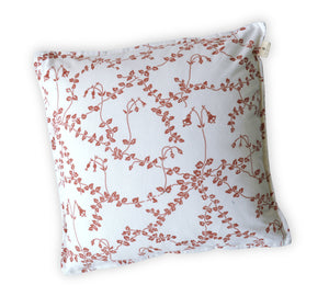 Red Printed Cushion
