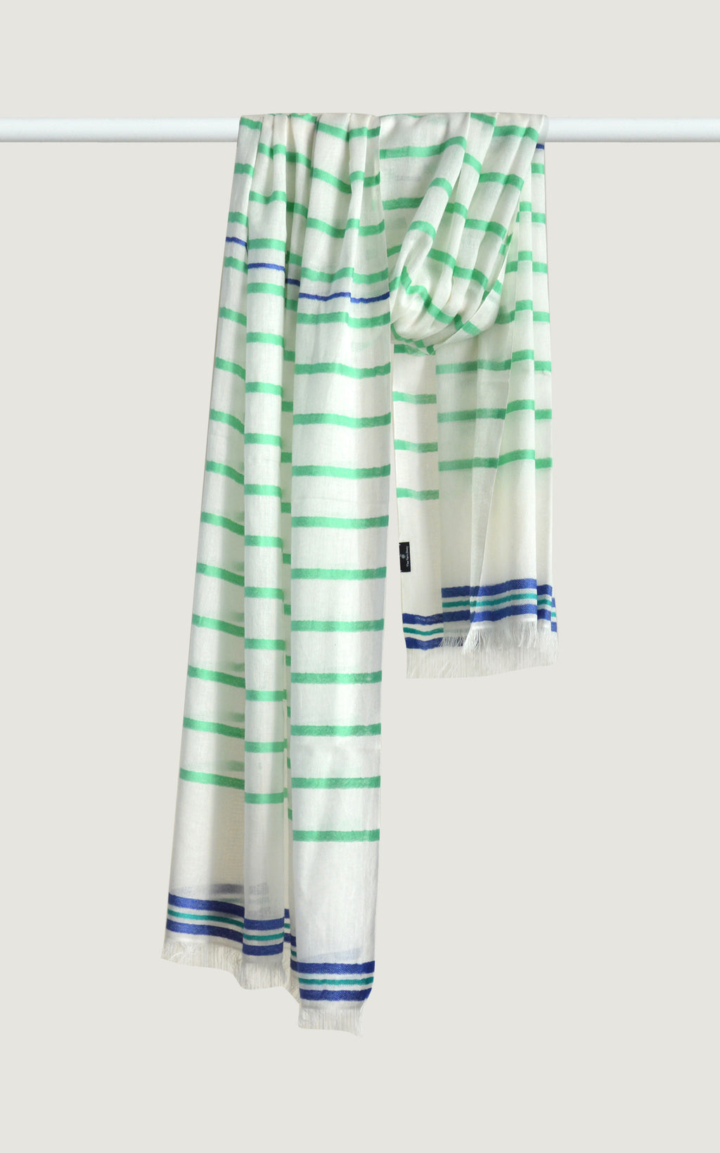 Sea Green Cotton Stripes