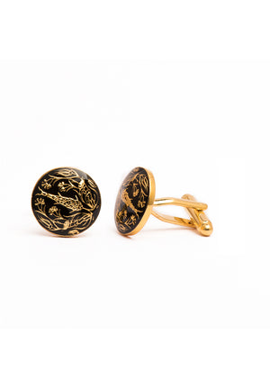 The Shalimar Cufflinks - Gold
