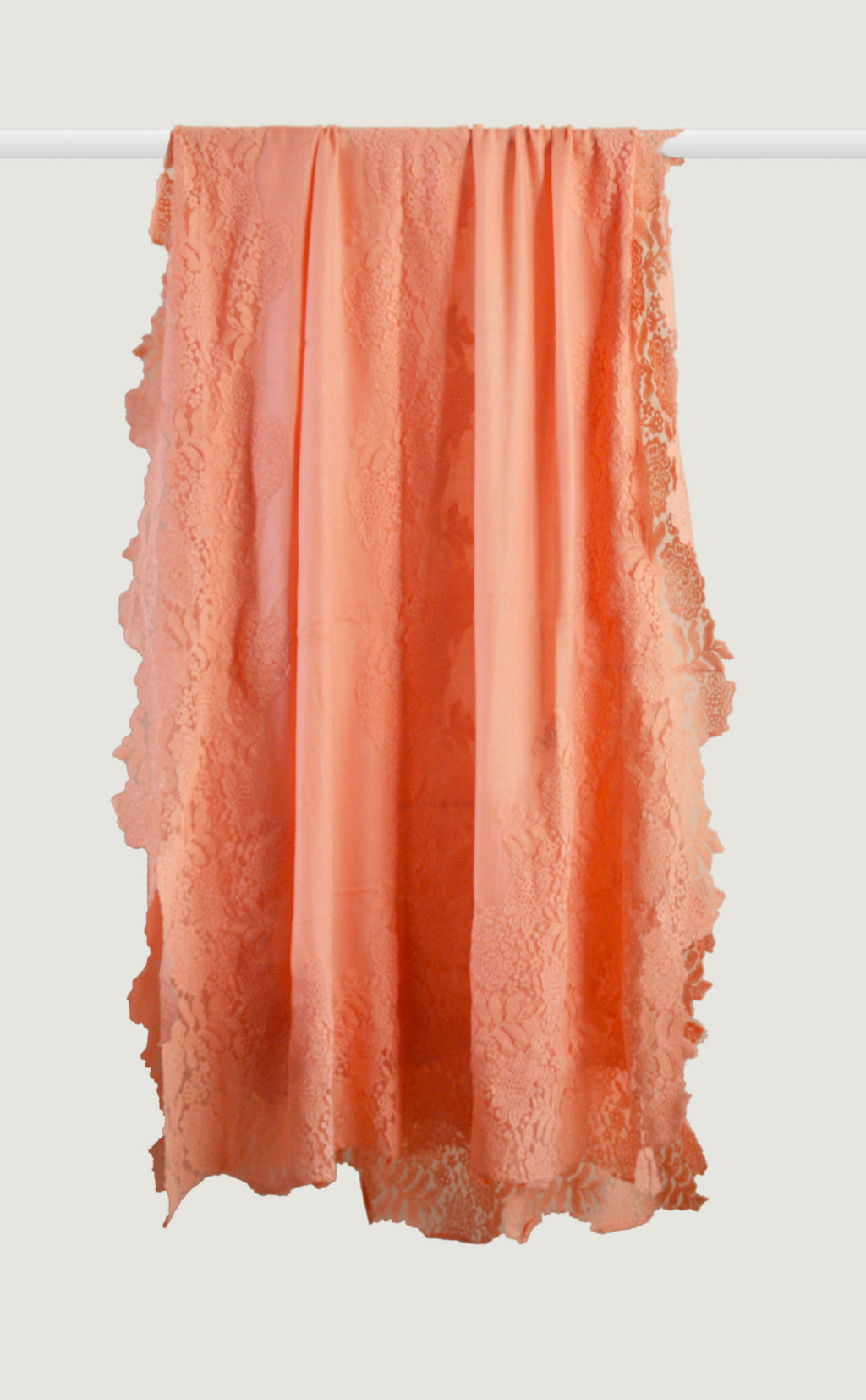 Peach Chantilly Stole