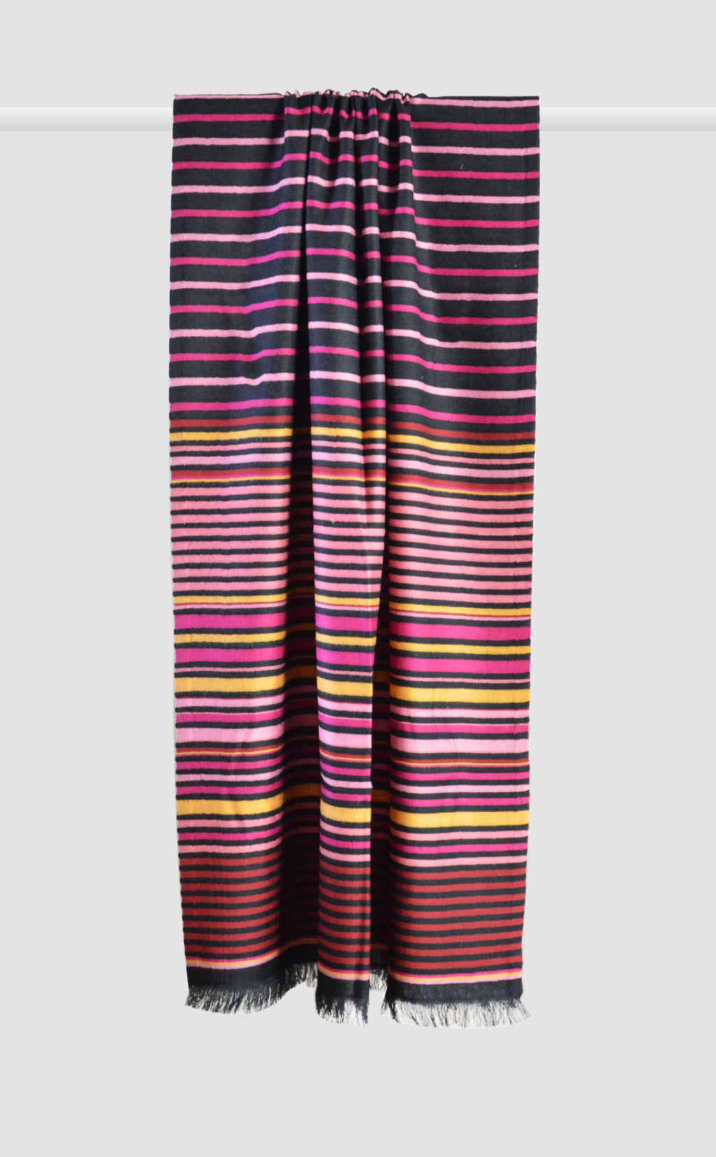 Black Pink Summer Stripes