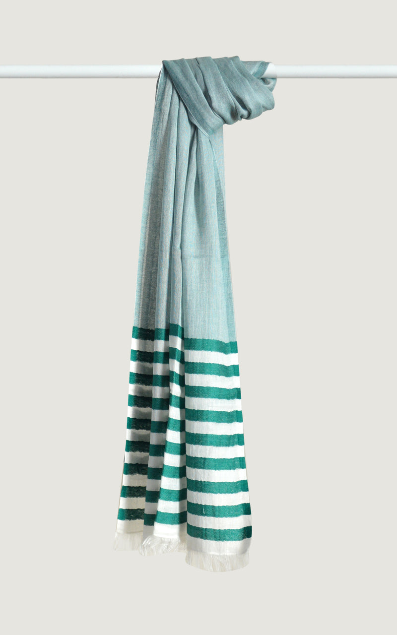 Emerald Cotton Stripes