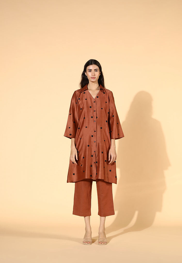 Alceal Rust Tunic Set
