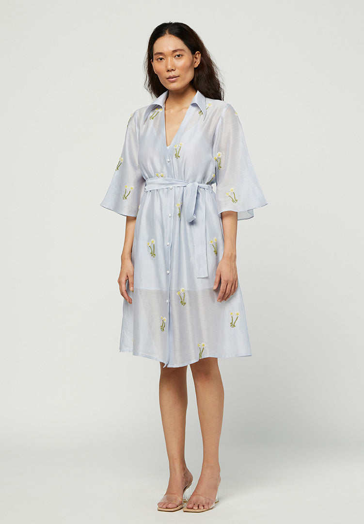 Ciel Embroidered  Dress
