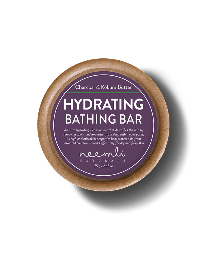 Charcoal and Kokum Butter Bathing Bar