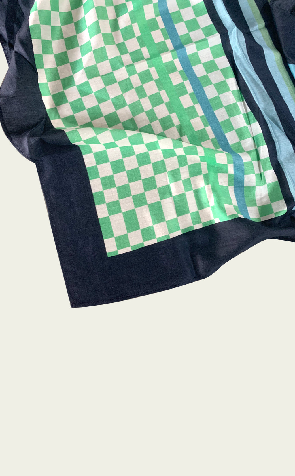 Mint Patterned Bandana