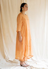 Abha Kurta Set - Orange