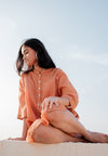 Hayal Dress - Rust Orange