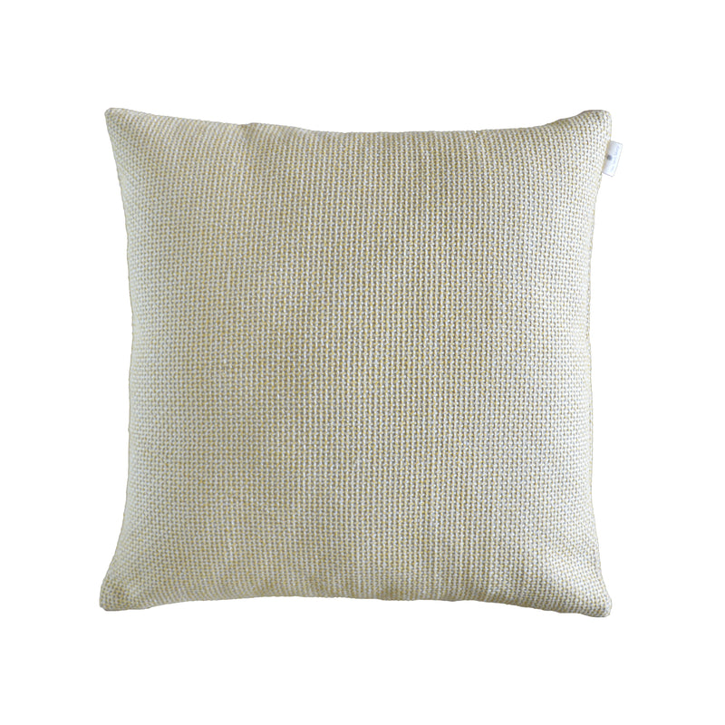 Yellow Woven Cushion