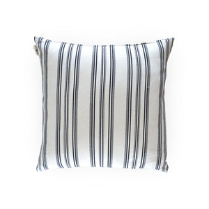 Black Nautical Cushion