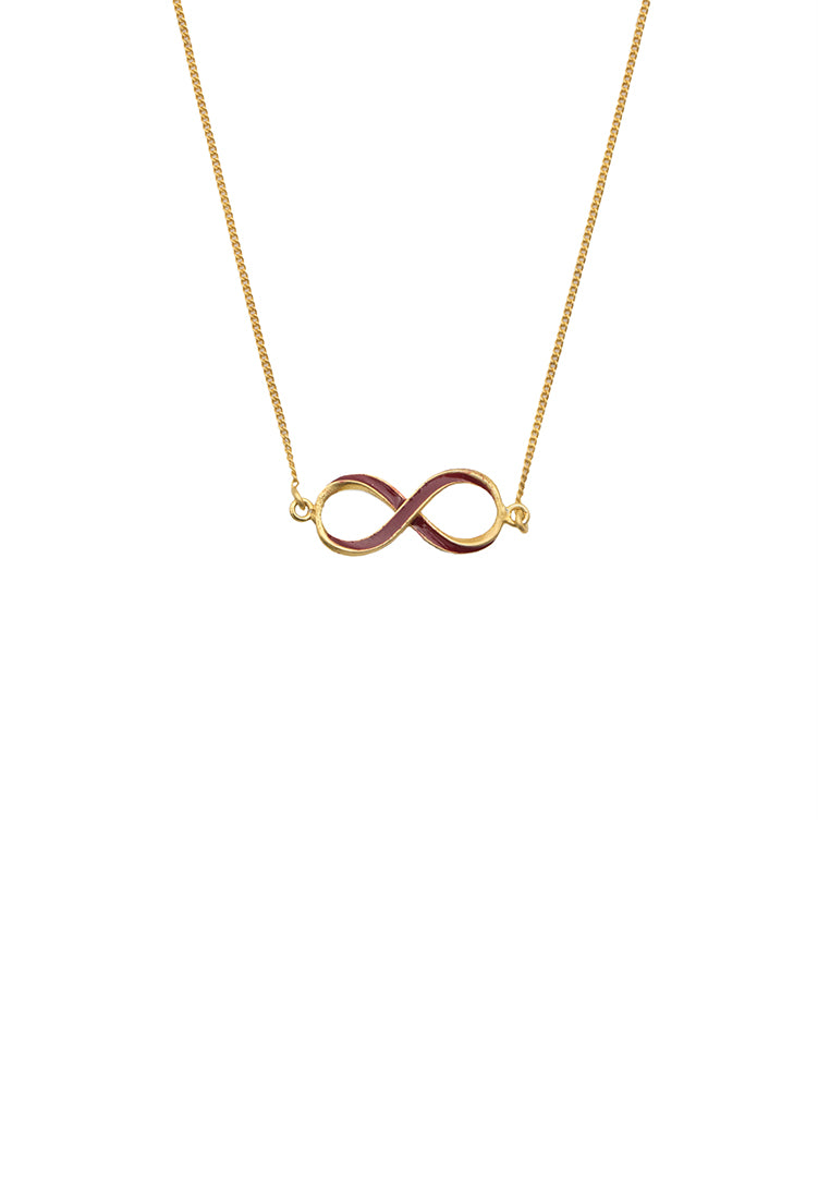 Infinity Neck Chain - Gold