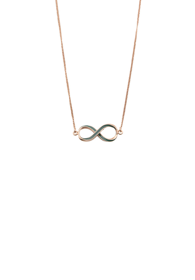 Infinity Neck Chain - Rose Gold