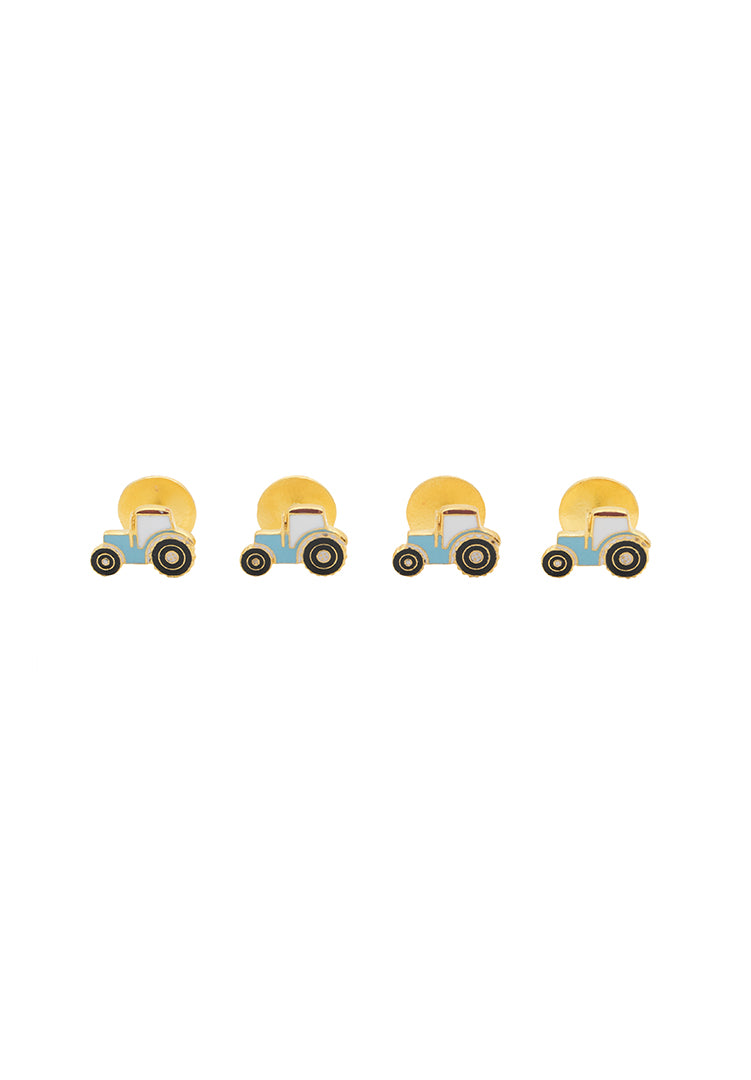 Tractor Kurta Buttons For Kids