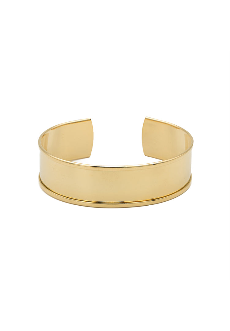 Classic Stackable Bangle - Gold
