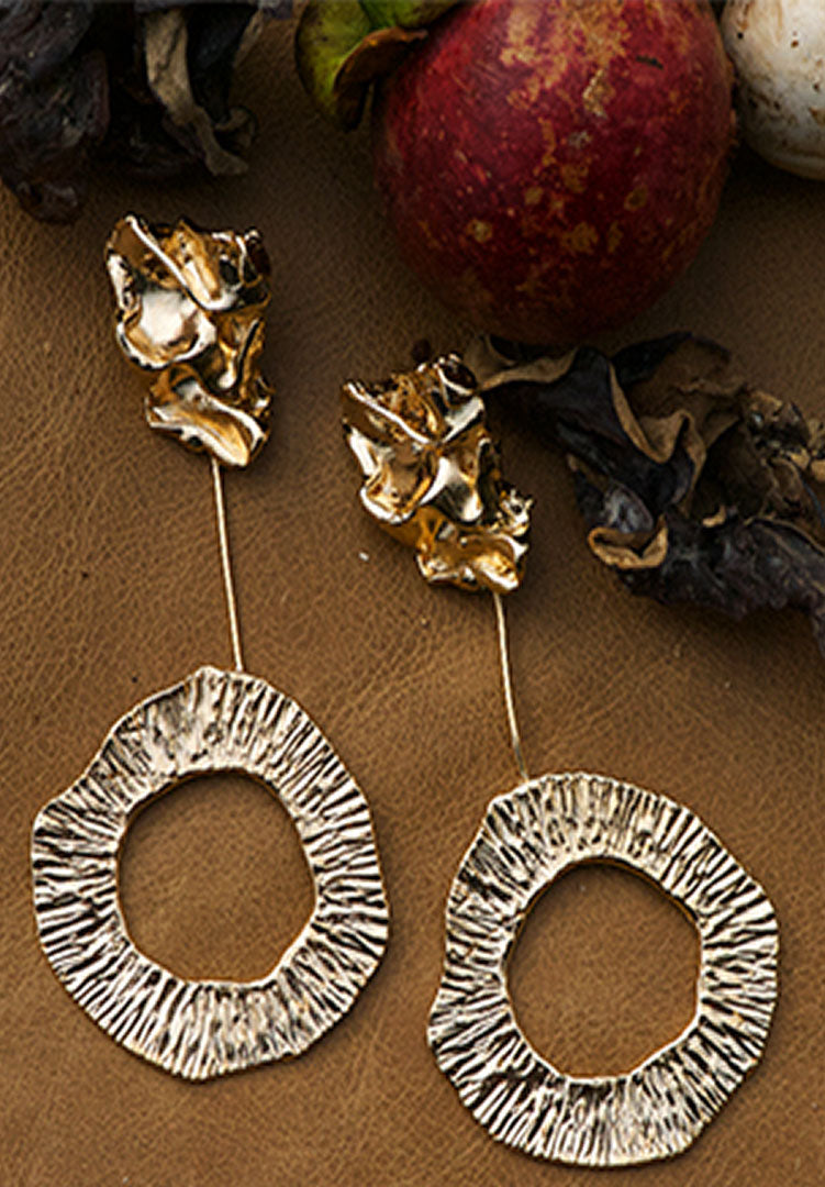 Kinoko Halo Loop Earrings