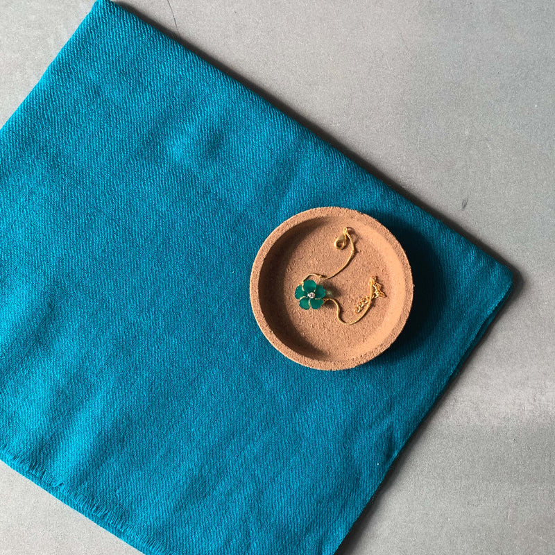 Teal Flower His & Her Set