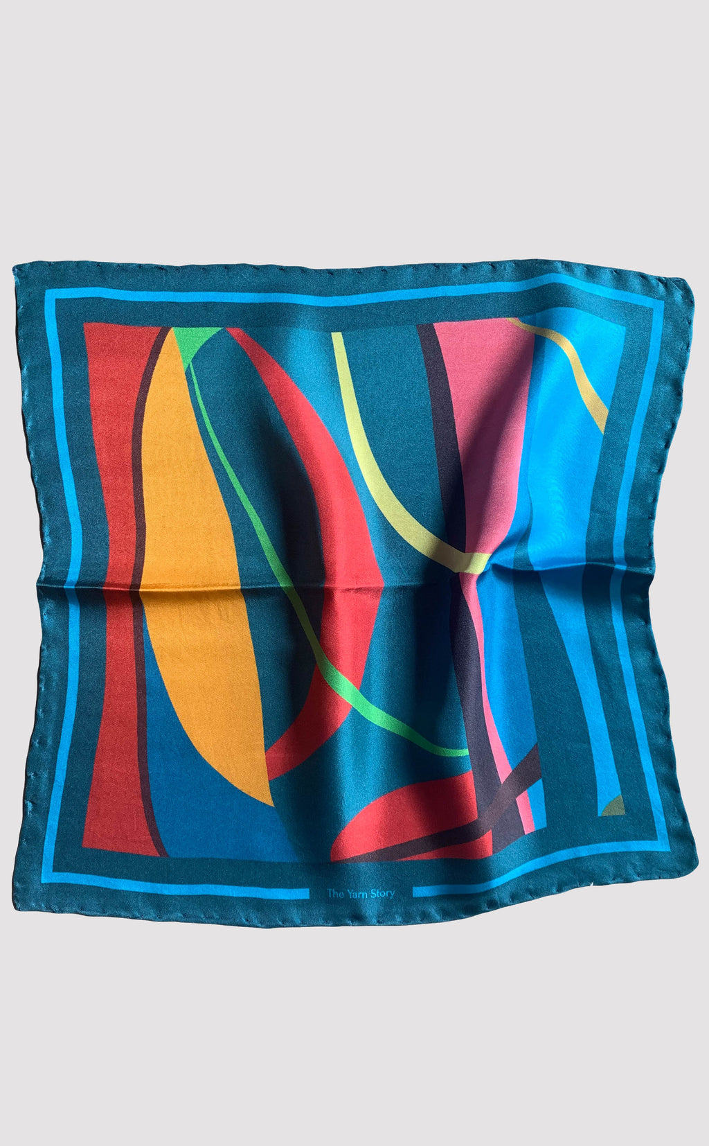 Abstract Rays Pocket Square